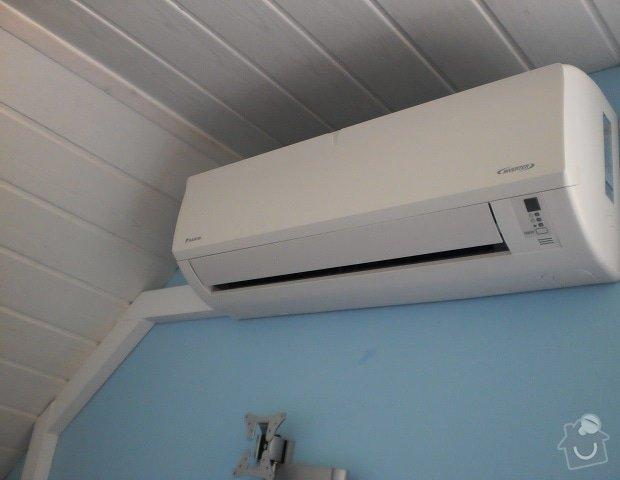 Koupe/instalace klimaticaze do loznice RD: P5040230