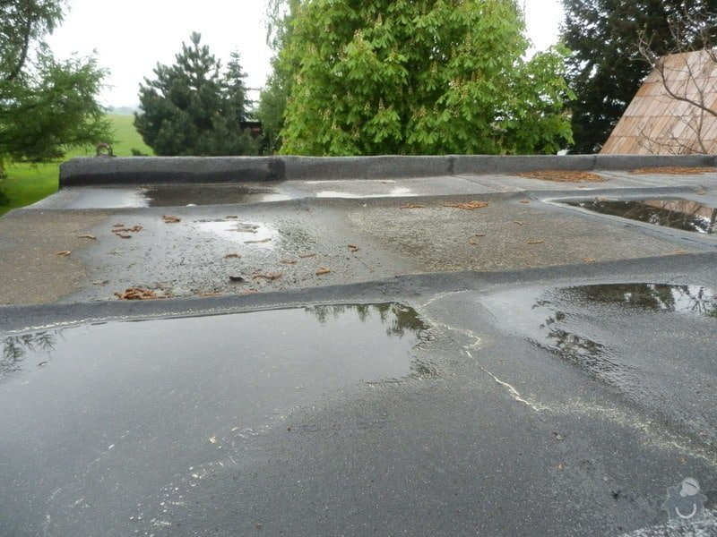 Rekonstrukce střechy stavební buňky: P5100004
