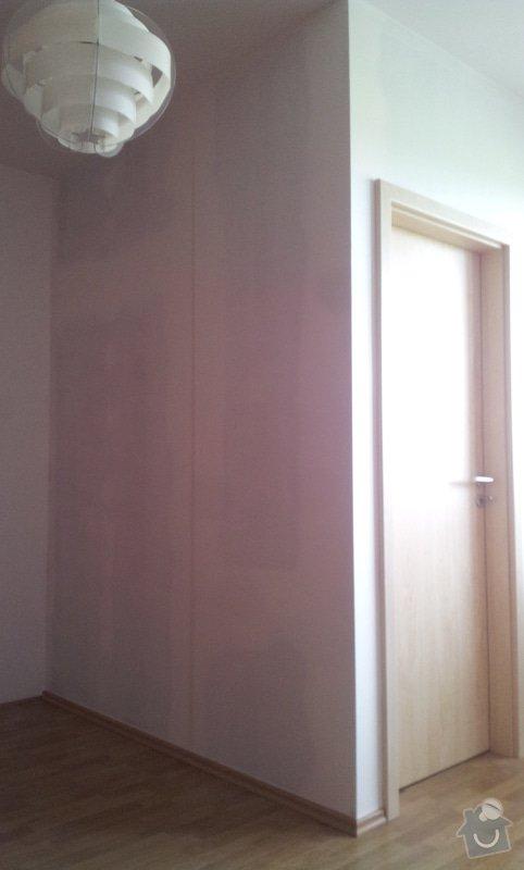Rozděleni místnosti sadrokartonovou příčkou: 20130507_134648