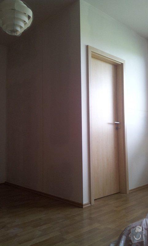 Rozděleni místnosti sadrokartonovou příčkou: 20130507_134700