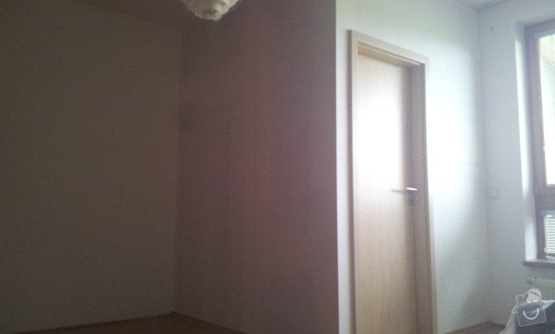 Rozděleni místnosti sadrokartonovou příčkou: 20130507_134725