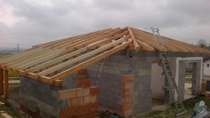 Zhotovení střechy: 2013-05-06-275