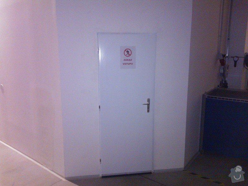Výměna dveří v SDK příčce: WP_000354