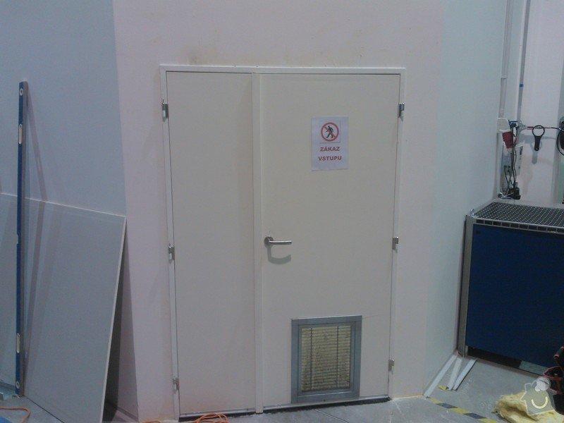Výměna dveří v SDK příčce: WP_000357