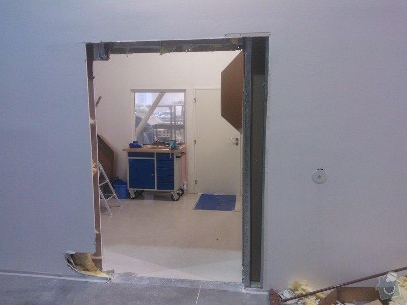 Výměna dveří v SDK příčce: WP_000355