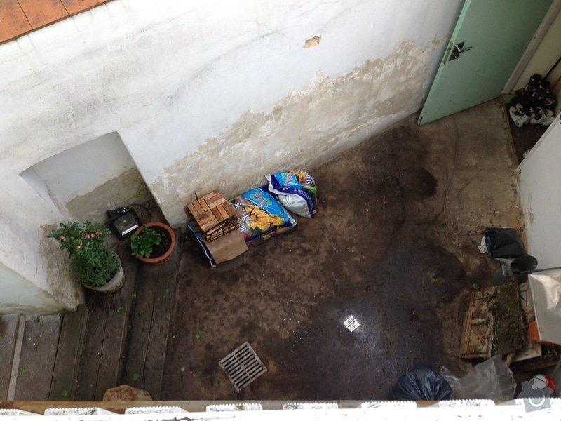 Malá zakázka - Zednické a malířské práce, drobně opravy.: celkovy_pohled_shora