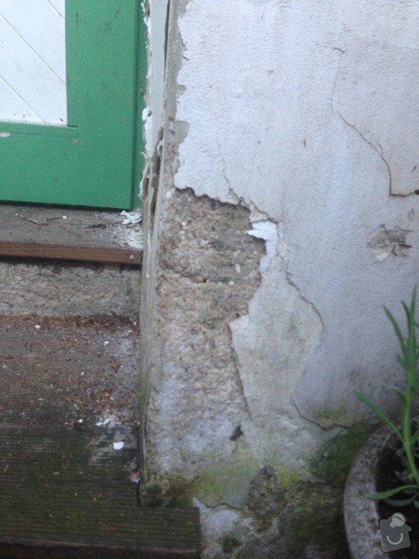 Malá zakázka - Zednické a malířské práce, drobně opravy.: detail_problemove_zdi