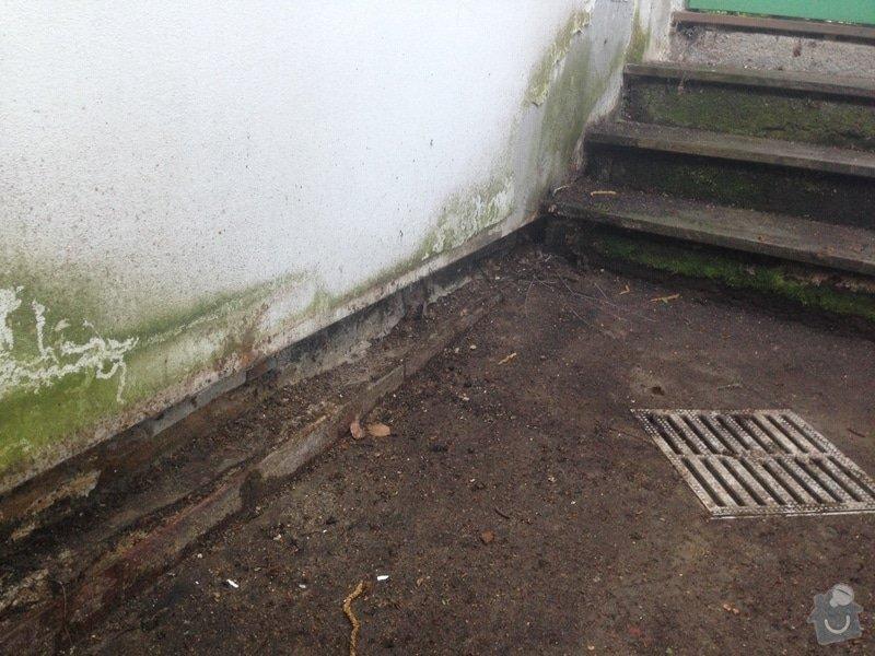 Malá zakázka - Zednické a malířské práce, drobně opravy.: pod_koupelnou