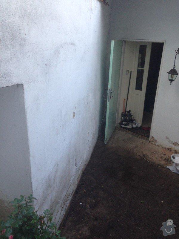 Malá zakázka - Zednické a malířské práce, drobně opravy.: problemova_zed