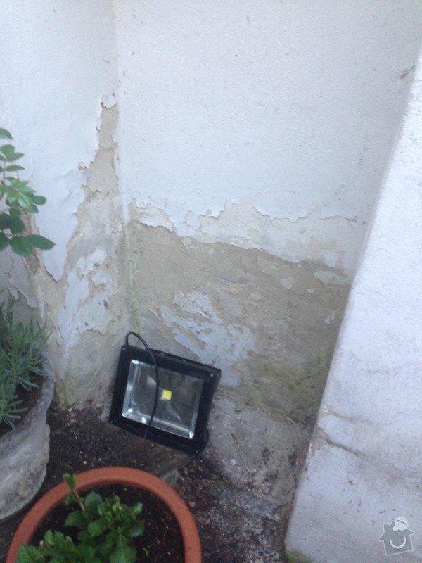 Malá zakázka - Zednické a malířské práce, drobně opravy.: vyklenek_problemova_zed