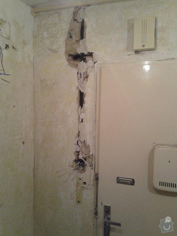 Rekonstrukce koupelny,WC,předsíně: 20130425_135635