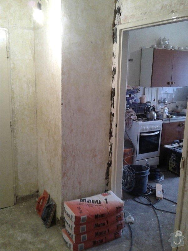 Rekonstrukce koupelny,WC,předsíně: 20130425_135722