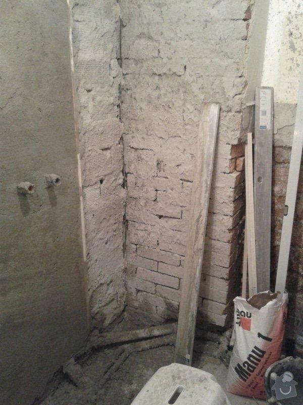 Rekonstrukce koupelny,WC,předsíně: 20130425_135802
