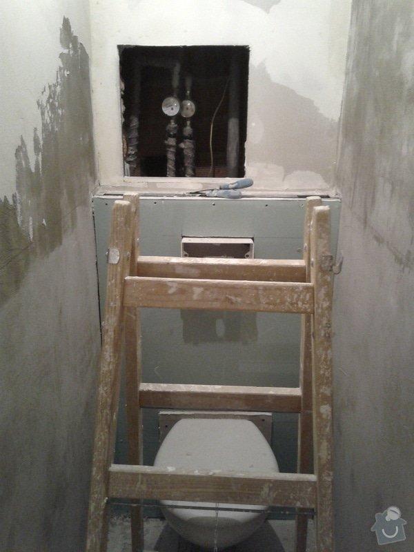 Rekonstrukce koupelny,WC,předsíně: 20130425_135942
