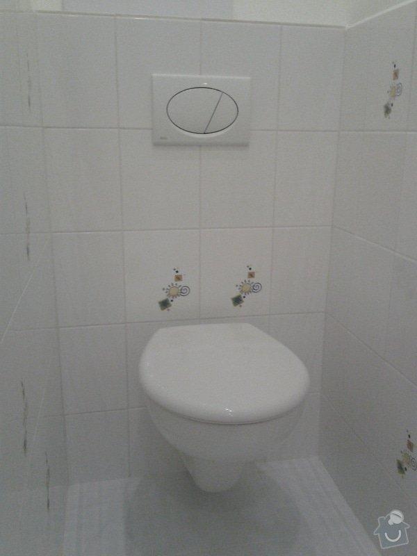 Rekonstrukce koupelny,WC,předsíně: 20130508_083335