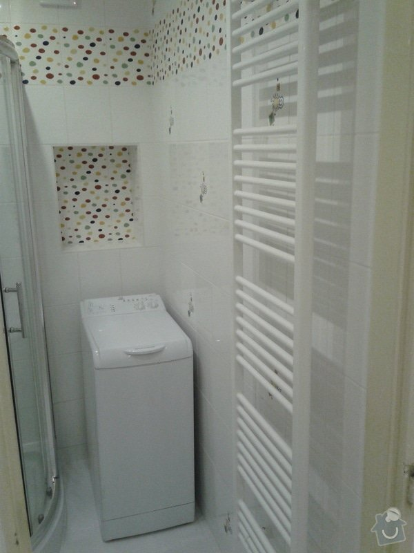 Rekonstrukce koupelny,WC,předsíně: 20130508_083408