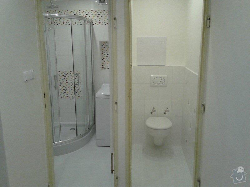 Rekonstrukce koupelny,WC,předsíně: 20130508_083458