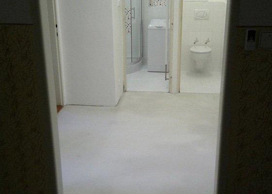 Rekonstrukce koupelny,WC,předsíně