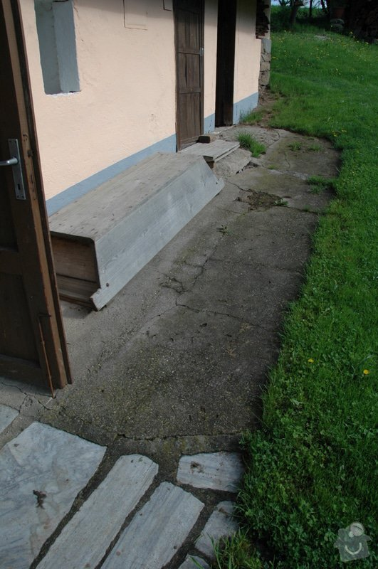 Pokládka kamenné dlažby a oprava kamenných zdí: 2