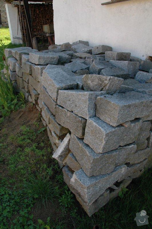 Pokládka kamenné dlažby a oprava kamenných zdí: 3a