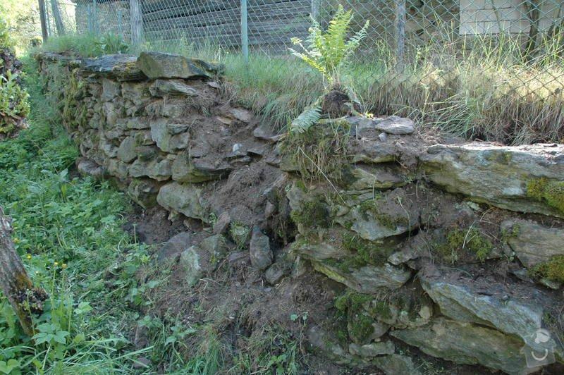 Pokládka kamenné dlažby a oprava kamenných zdí: 4a