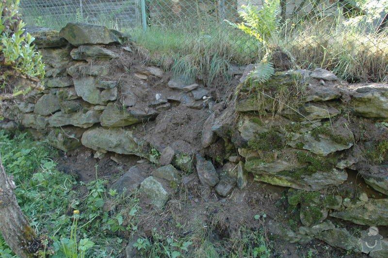 Pokládka kamenné dlažby a oprava kamenných zdí: 4b