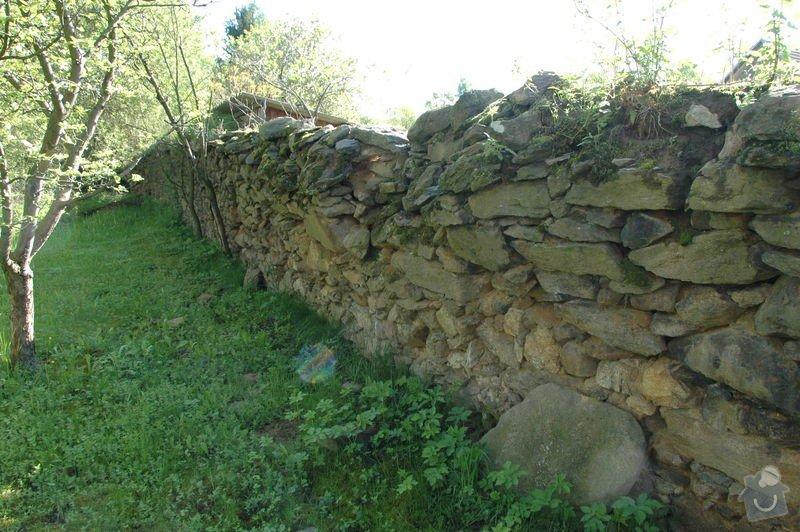 Pokládka kamenné dlažby a oprava kamenných zdí: 5