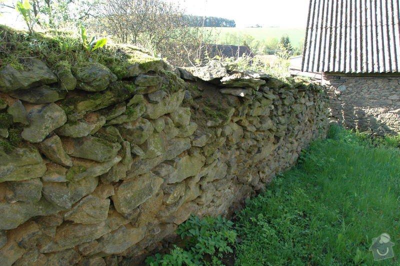 Pokládka kamenné dlažby a oprava kamenných zdí: 5a