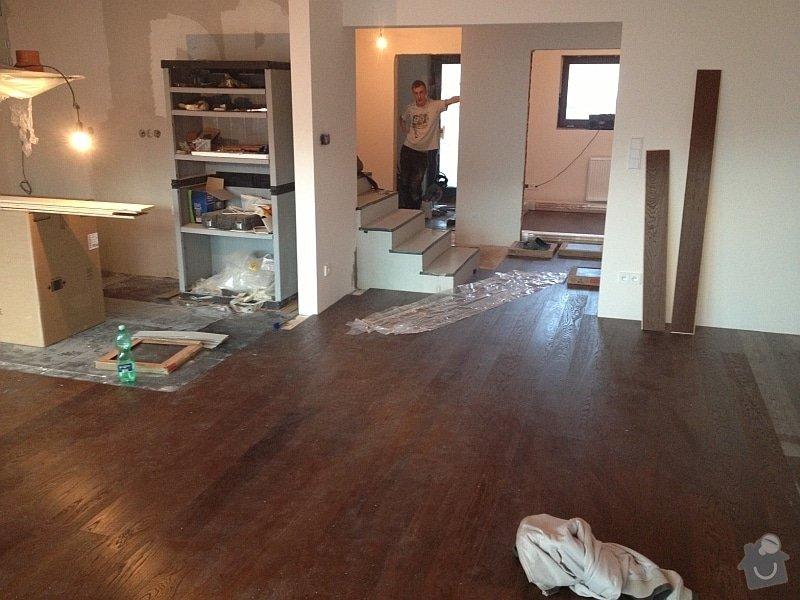 Dřevěné podlahy a schody: podlaha