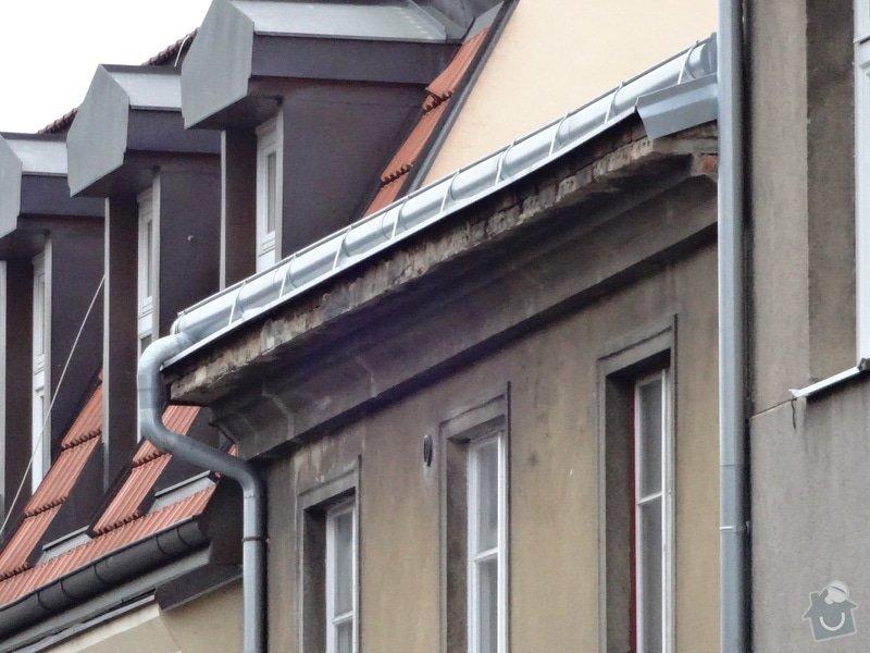 Oprava Horni casti ulicni a dvorni fasady - 2xRimsa: DSC00698