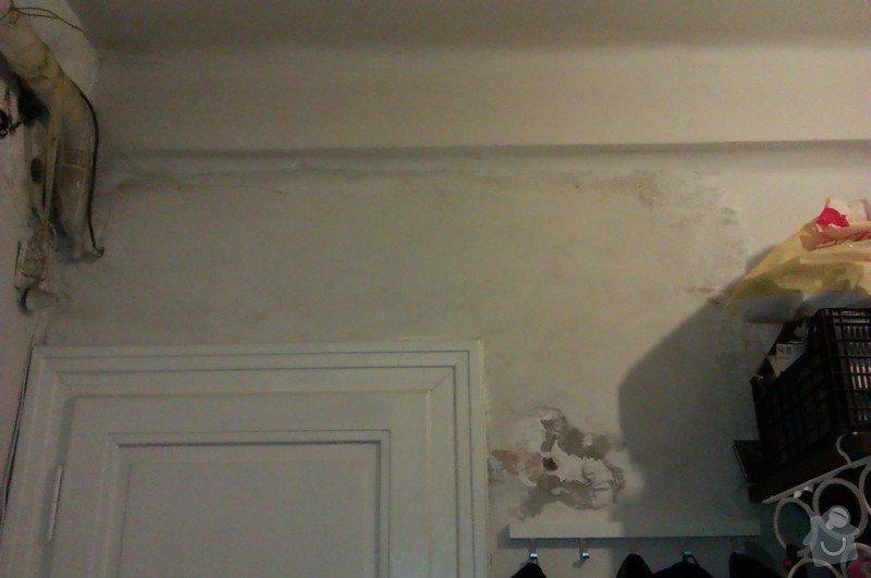 Štukování chodby a wc + snížení stropu v chodbě: IMAG1047
