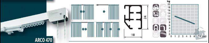 Výměna garnýže, začištění stropu : ARCO_470