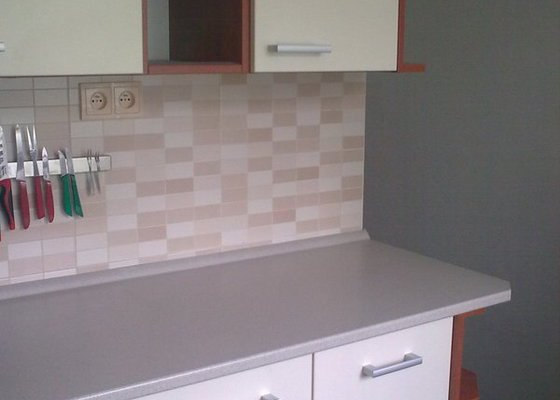 Rekonstrukce bytového jádra, kuchyně