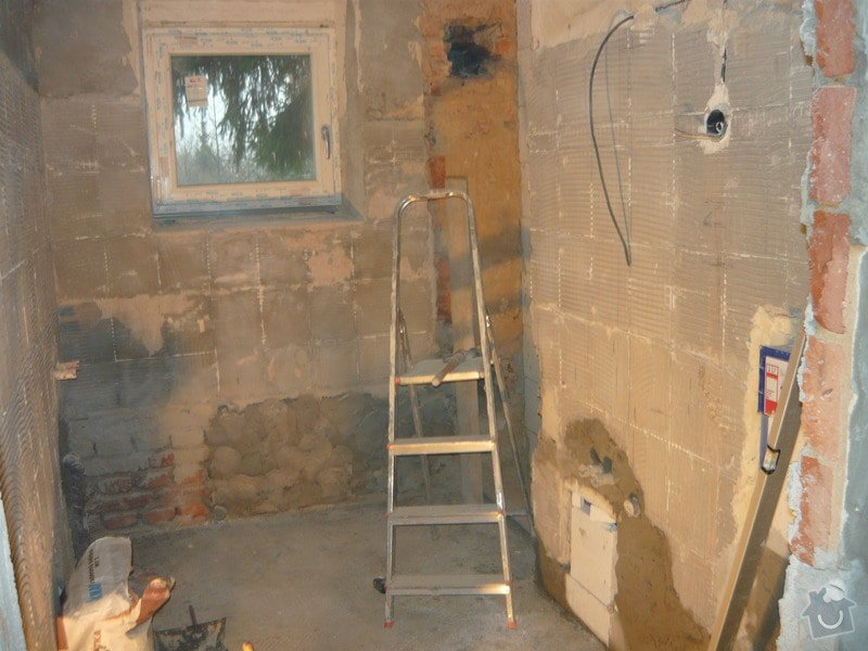 Rekonstrukce koupelne a oprava pokoji: P1020269
