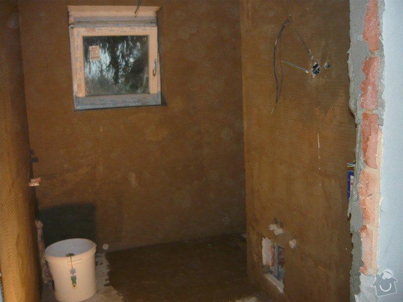 Rekonstrukce koupelne a oprava pokoji: P1020272