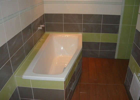 Rekonstrukce koupelne a oprava pokoji