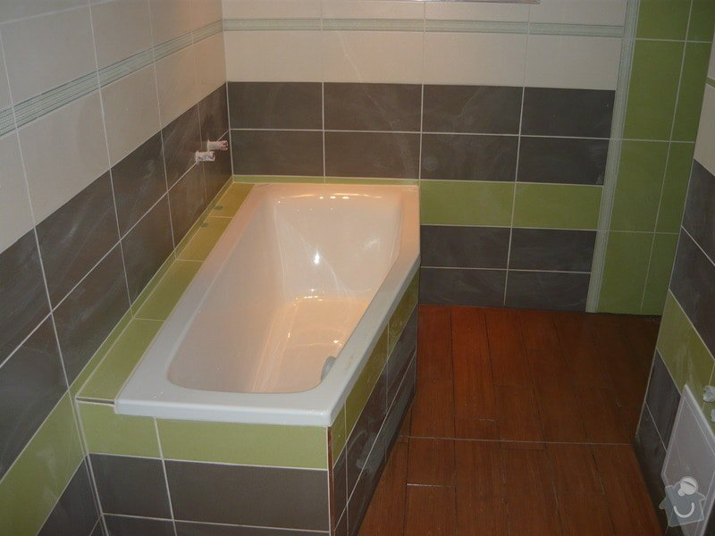 Rekonstrukce koupelne a oprava pokoji: P1020284