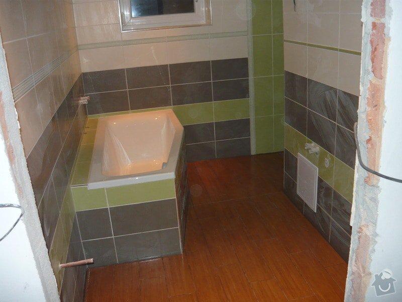Rekonstrukce koupelne a oprava pokoji: P1020280