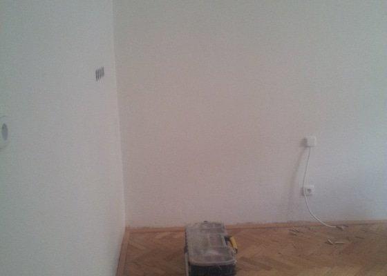 Elektroinstalace pro novou kuchyň, včetně zadělání kabelů