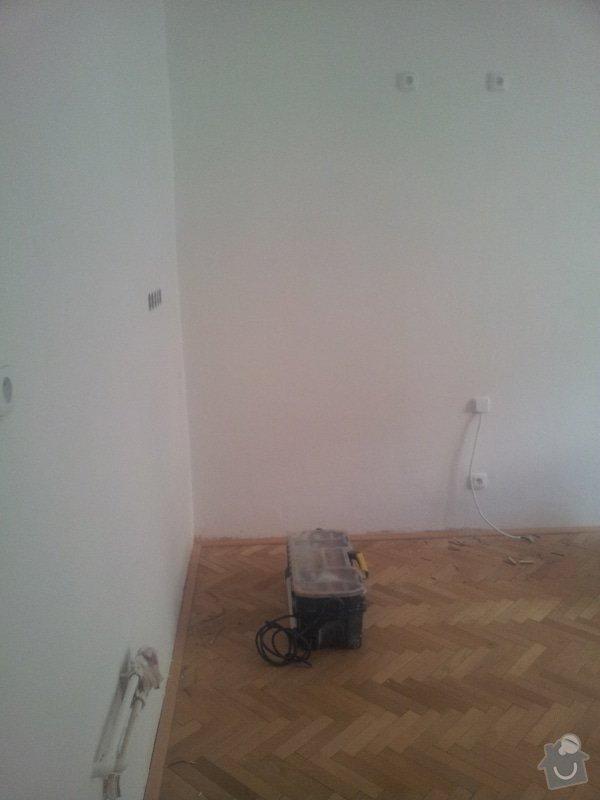 Elektroinstalace pro novou kuchyň, včetně zadělání kabelů: kuchyn_Kodanska