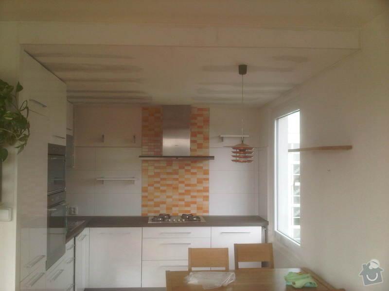 Stropní podhled a sádrokarton v kuchyni: IMG-20130514-00190