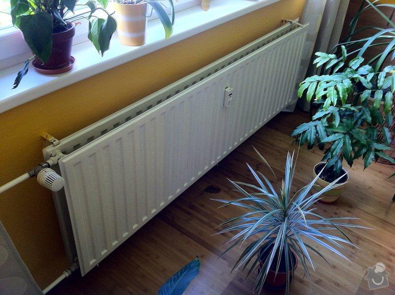 Výměna 4ks radiátorů v panelákovém bytě: IMG_2354