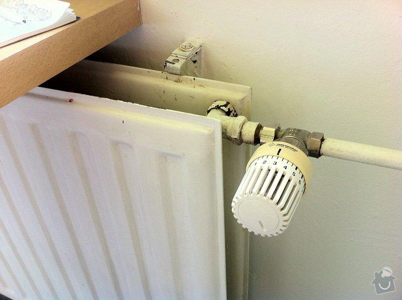 Výměna 4ks radiátorů v panelákovém bytě: IMG_2356