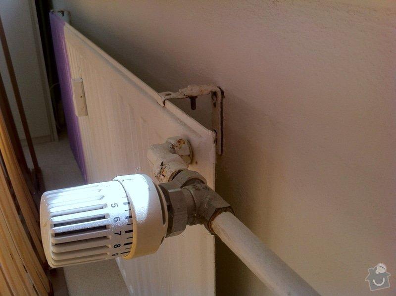 Výměna 4ks radiátorů v panelákovém bytě: IMG_2364