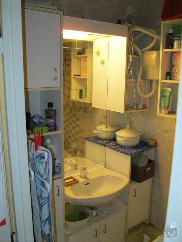 Rekonstrukce koupelny + elektroinstalace: IMG_3857