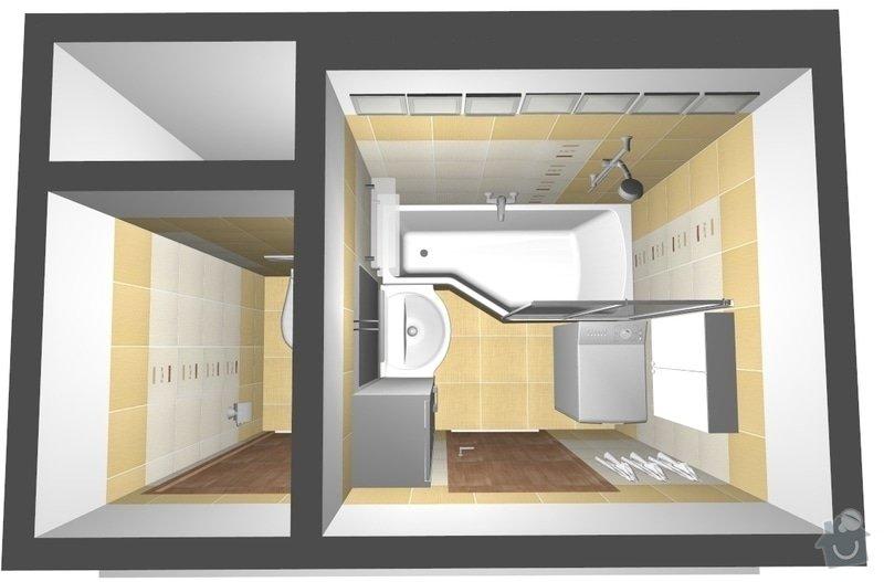 Rekonstrukce bytového jádra v Žabovřeskách: 001_var2_pohled8