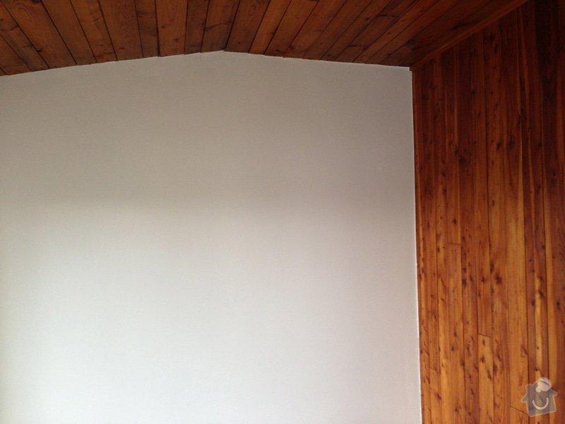 Obnova dřeva, broušení lakování, malování chaty a oprava všech detailů po zednících: IMG_0556