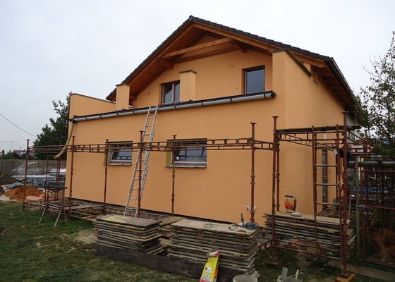 Přístavba RD , Oprava terasy, Fasáda