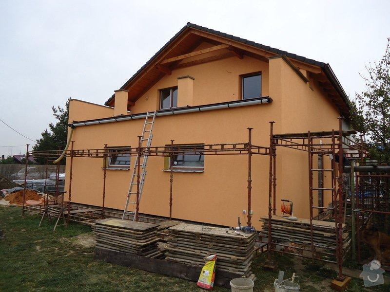 Přístavba RD , Oprava terasy, Fasáda: DSC05811