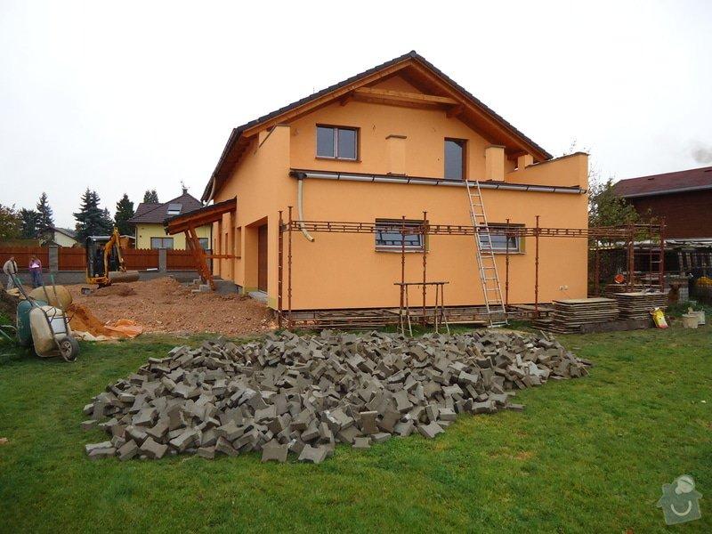 Přístavba RD , Oprava terasy, Fasáda: DSC05812